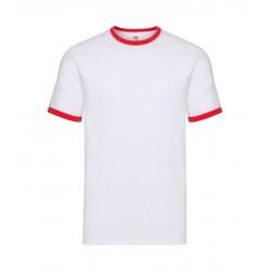 FotL Men Ringer 165g - BIAŁO-CZERWONA (WM) - koszulka męska
