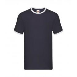FotL Men Ringer 165g - GRANATOWO-BIAŁA - koszulka męska