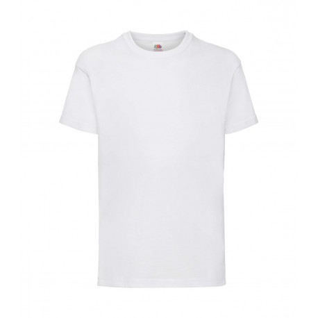 FotL Kids Valueweight 165g - BIAŁA - koszulka dziecięca