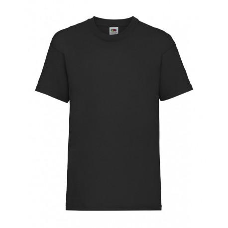 FotL Kids Valueweight 165g - CZARNA - koszulka dziecięca
