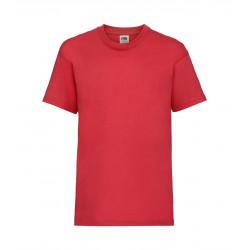 FotL Kids Valueweight 165g - CZERWONA (40) - koszulka dziecięca