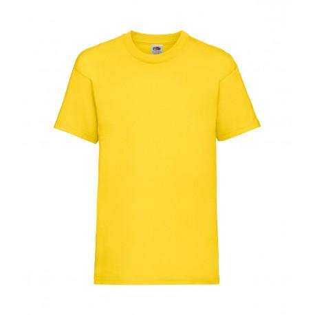 FotL Kids Valueweight 165g - ŻÓŁTA - koszulka dziecięca