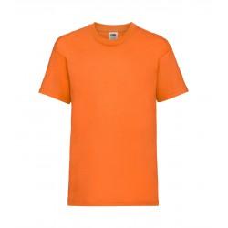 FotL Kids Valueweight 165g - POMARAŃCZOWA - koszulka dziecięca