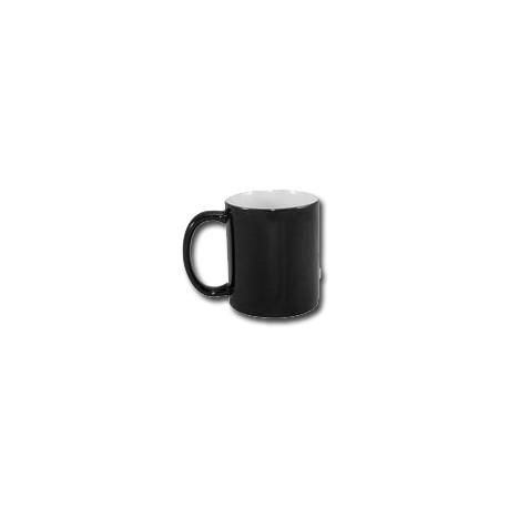 Kubek sublimacyjny magiczny czarny klasy A+ 330 ml