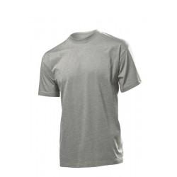 Koszulka męska SZARA (HEATHER GREY) - Stedman Comfort 185g (ST 2100)