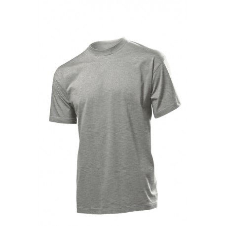 Koszulka męska SZARA (HEATHER GREY) - Stedman Comfort 185g
