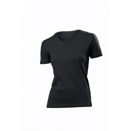 Koszulka damska CZARNA - Stedman Classic 155g