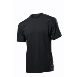 Koszulka męska CZARNA - Stedman Classic 155g (ST 2000)