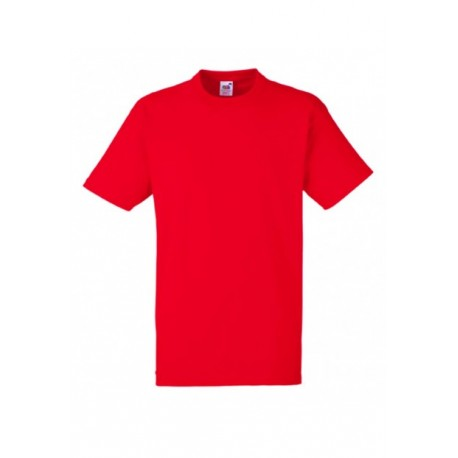 FotL Men Heavy Cotton 195g - CZERWONA - koszulka męska
