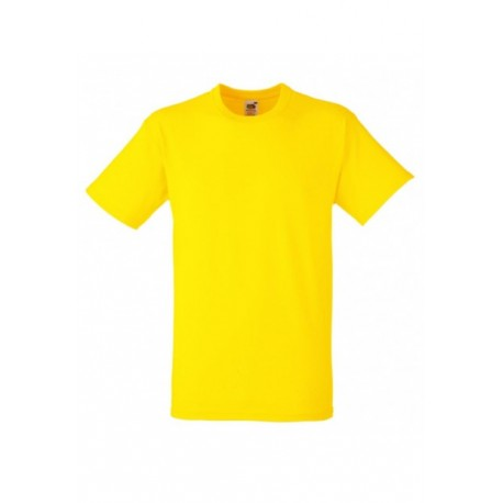 FotL Men Heavy Cotton 195g - ŻÓŁTA - koszulka męska