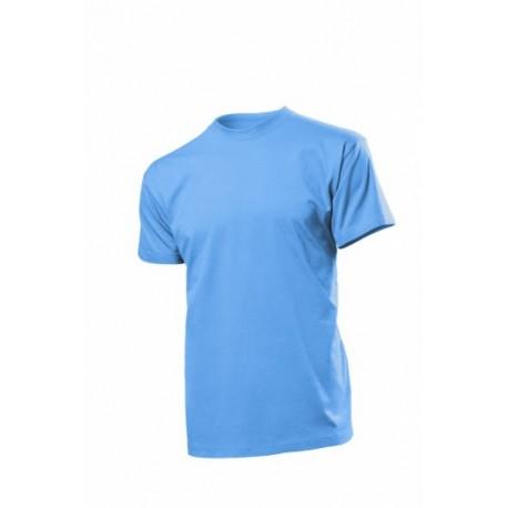 Koszulka męska NIEBIESKA (Light Blue) - Stedman Classic 155g