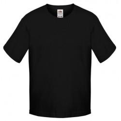 FotL Kids Sofspun 165g - CZARNA (36) - koszulka dziecięca