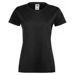 FotL Women Sofspun 165g - CZARNA (36) - koszulka damska (61-414)