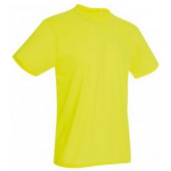 Koszulka męska CYBER YELLOW - Stedman Active Cotton Touch 160g (ST 8600)