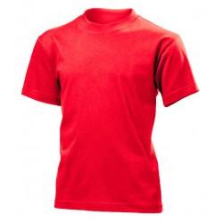 Koszulka dziecięca CZERWONA - Stedman Junior Classic 155g (ST 2200)