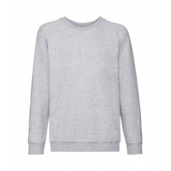Fruit of the Loom Kids Raglan Sweat Classic 280g - bluza dziecięca (62-039)