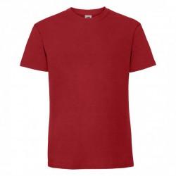 FotL Men Ringspun Premium 195g - CZERWONA (40) - koszulka męska (61-422)