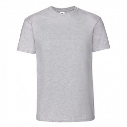 FotL Men Ringspun Premium 195g - SZARA (94) - koszulka męska (61-422)