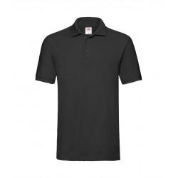 FotL Men Premium Polo 180g - CIEMNO GRANATOWA (AZ) - koszulka męska (63-218)