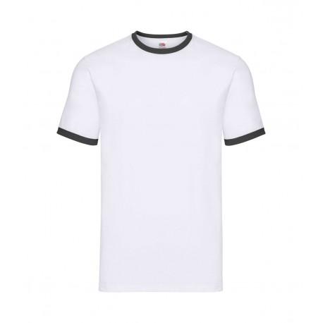 FotL Men Ringer 165g - BIAŁO-CZARNA - koszulka męska
