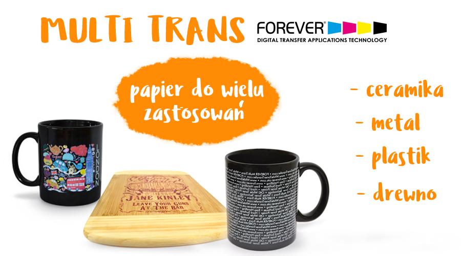 Multi - Trans Forever papier termotransferowy