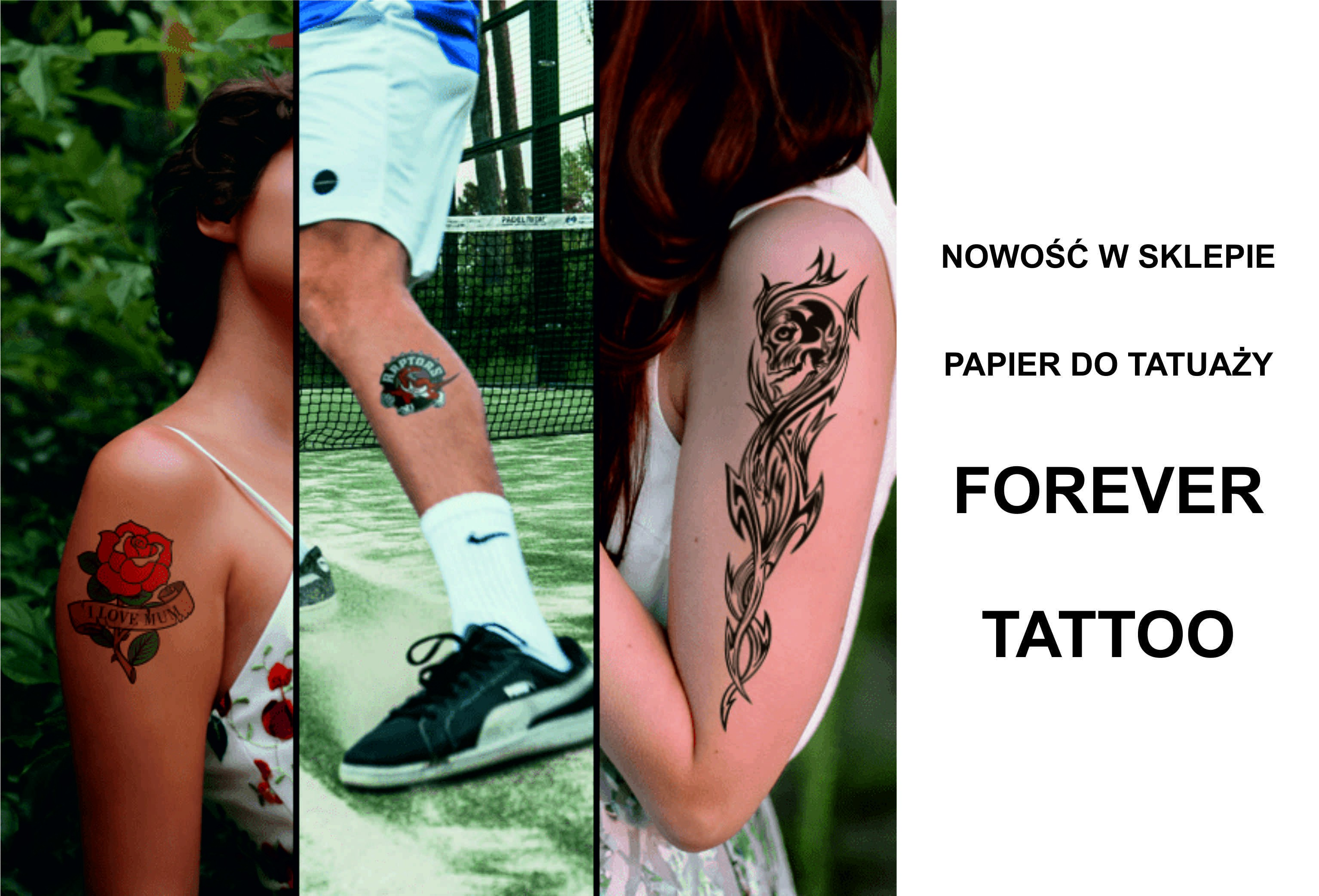 Papier do tatuaży - FOREVER TATTOO
