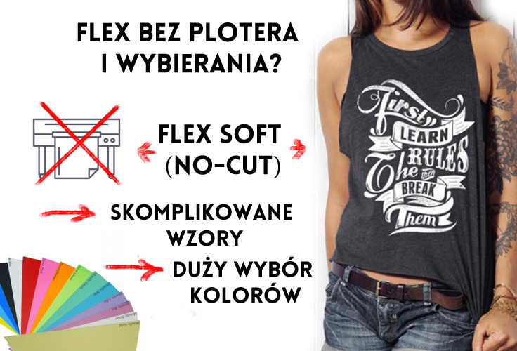 Flex bez wycinania, Forever soft no cut